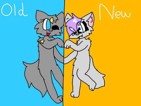 old vs new