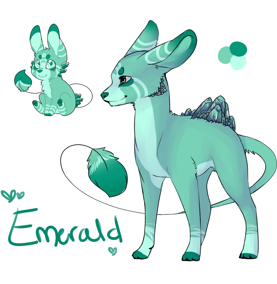 Emerald Geopup - Closed by Ibaru