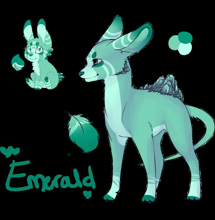 Emerald Geopup - Closed by Ibaru