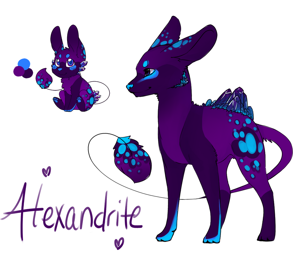 Alexandrite Geopup - Closed by Ibaru