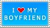 I Love My Boyfriend (blue)