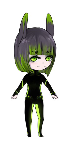 Future green rabbit adoptable by SENITA