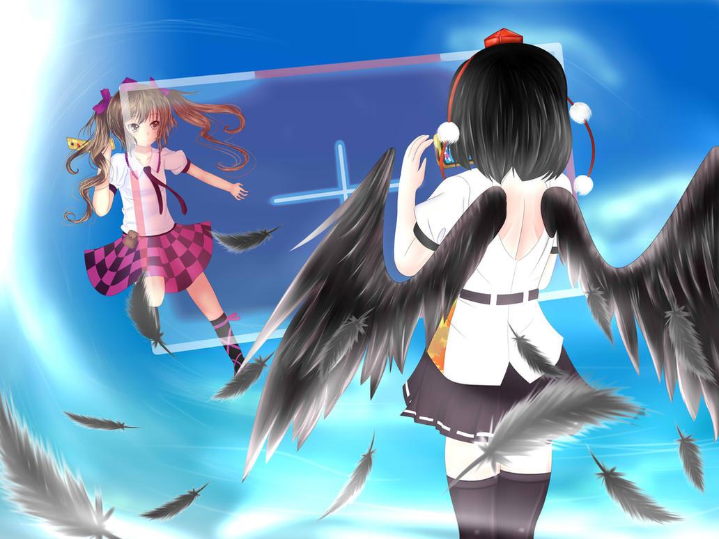 Touhou: Double Spoiler by SkyPyoro
