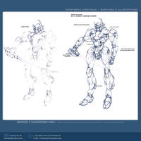 gundam design WIP by Navetsea