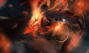 Mikasa Bein' Badass by Zombeh-Sakana