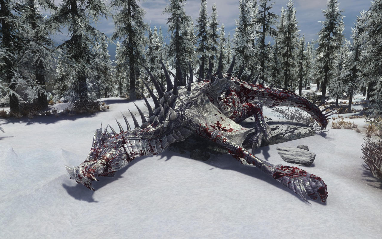 Dead Frost Dragon By Euther On DeviantArt