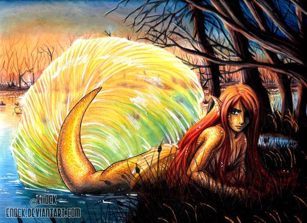 Swamp Merman by Enock