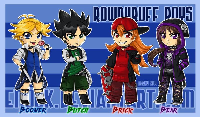 Teen Rowdyruff Boys by Enock