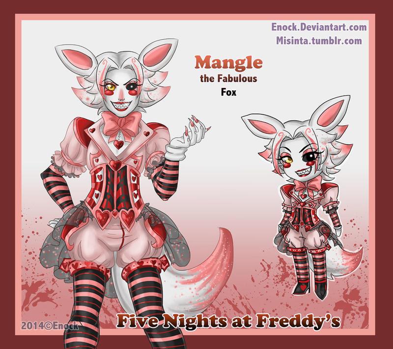 Mangle the Fabulous Male Fox by Enock