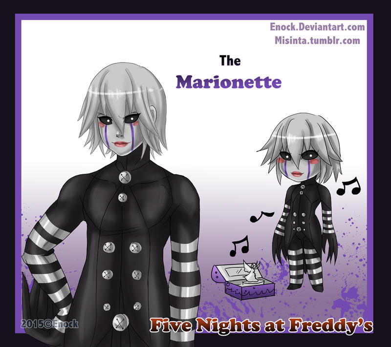 The Marionette by Enock