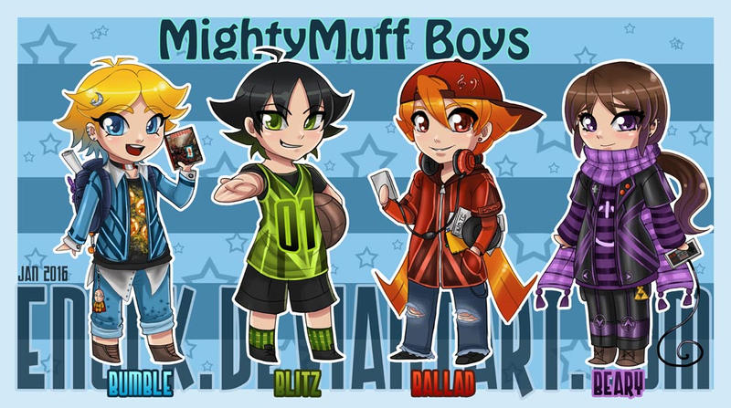 MightyMuff Boys aka RowdyRuff Boys by Enock
