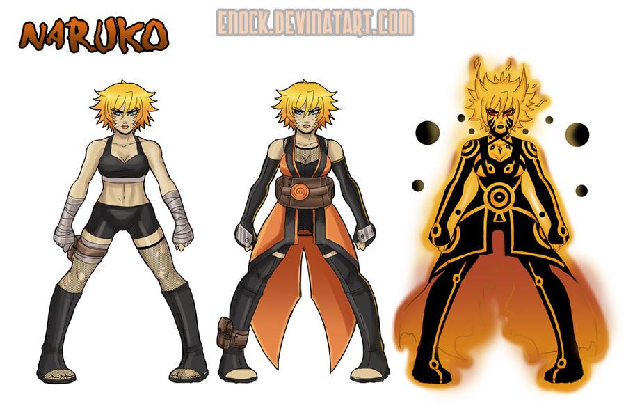 Evil Naruto 2 by Enock
