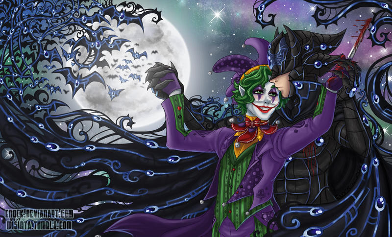 Elseworld:Fairytale Batman and Joker by Enock