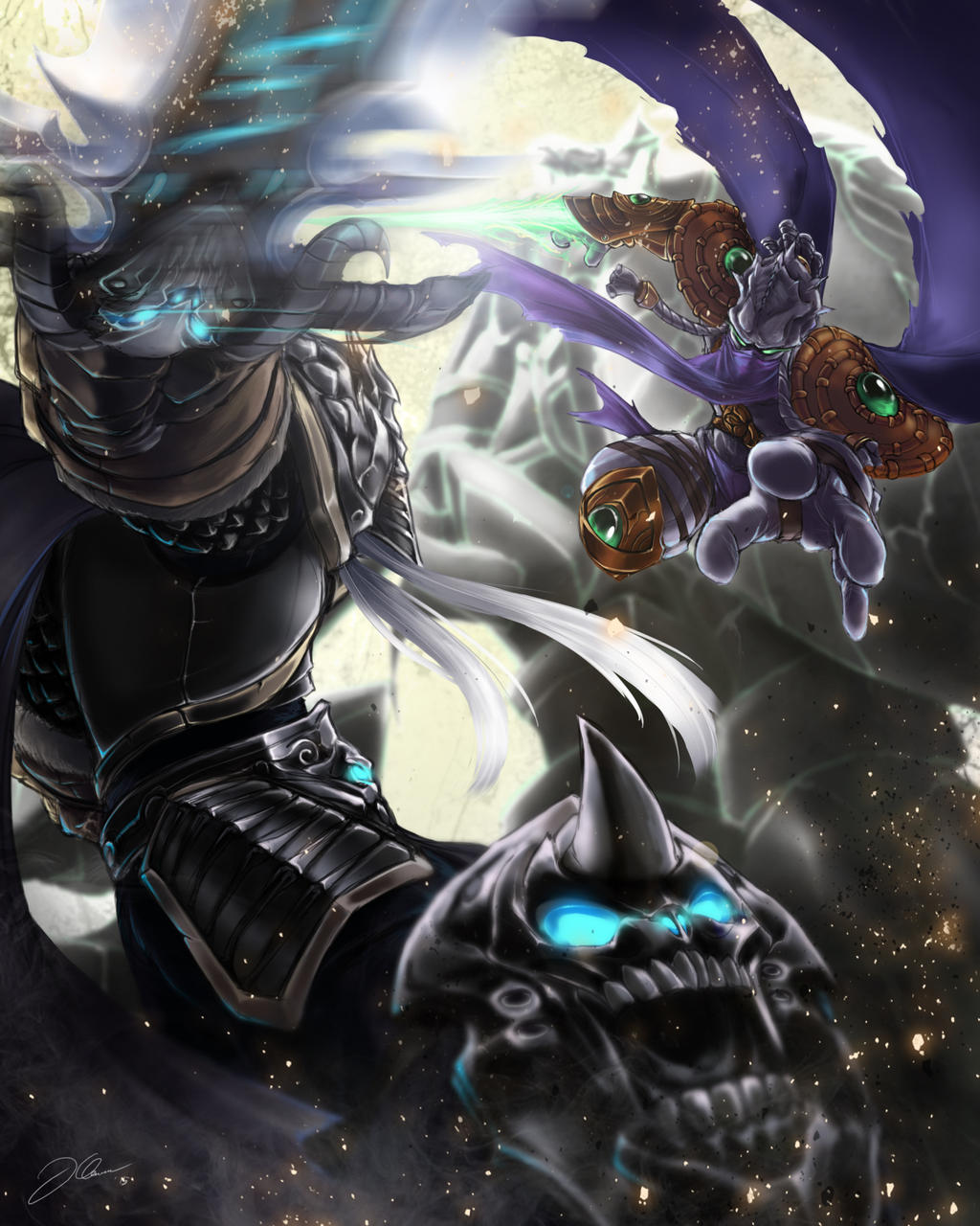 The Fallen King and The Dark Templar