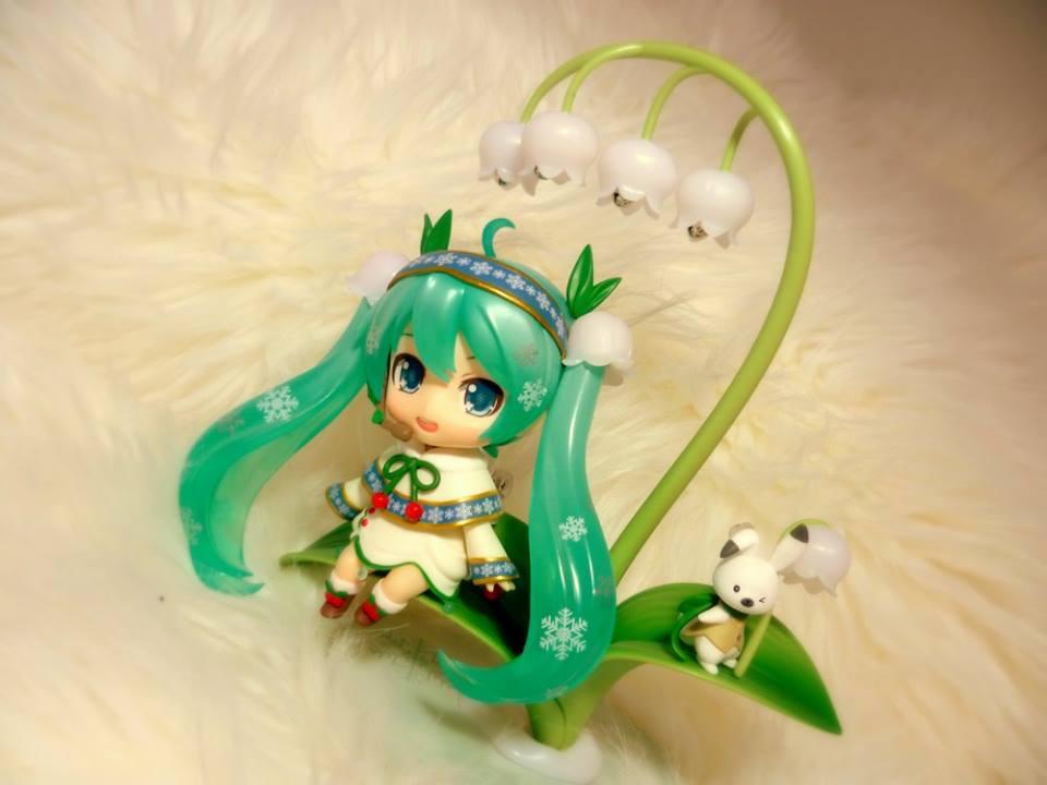 Snow Miku: Snow Bell Ver by Cheukeumeule