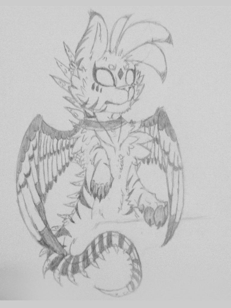 Tigerous sketch  by LY-notdigital