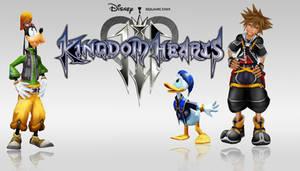 Kingdom Hearts 3 Poster