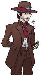 Dameon Creed - Half Elf Rogue Inquisitive