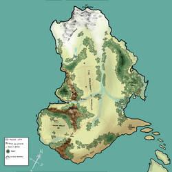 Parbatasan Map