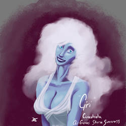 Ciri Cirrastrata - Air Genasi Storm Sorceress