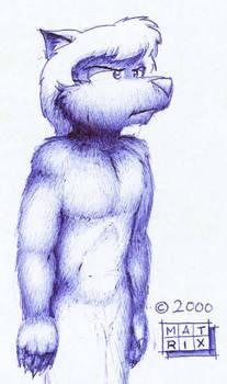 Furry in Blue