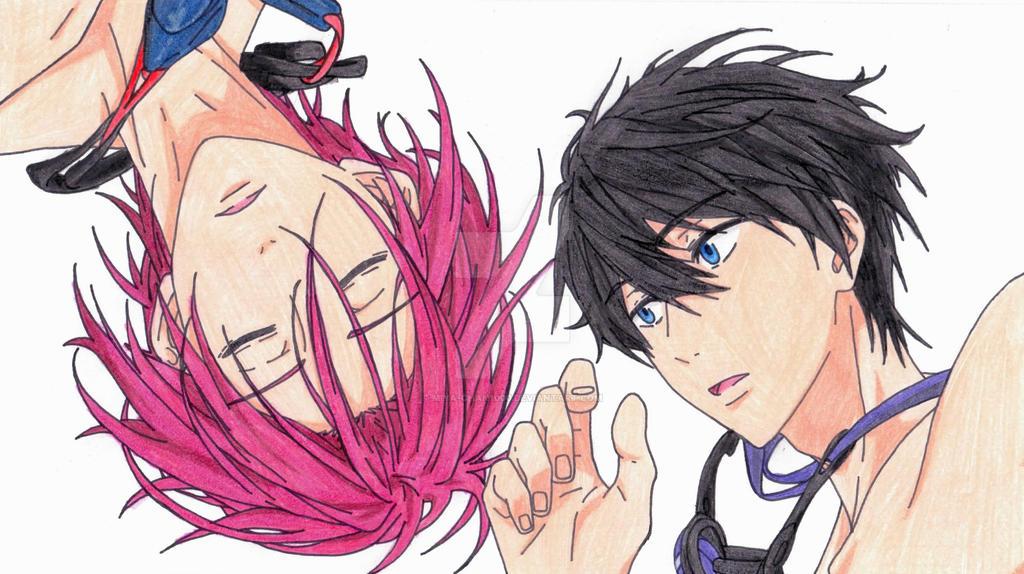 Rin X Haru by Miya-chan1000