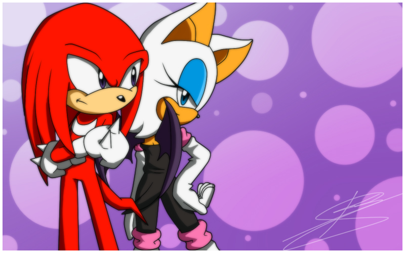 knuckles and rouge relationship problems