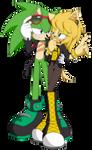 PC - Aya and Scourge