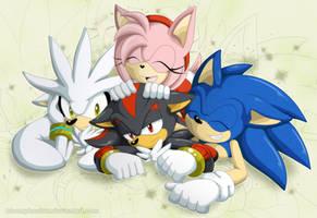 .:Hedgehogs:. by BloomPhantom