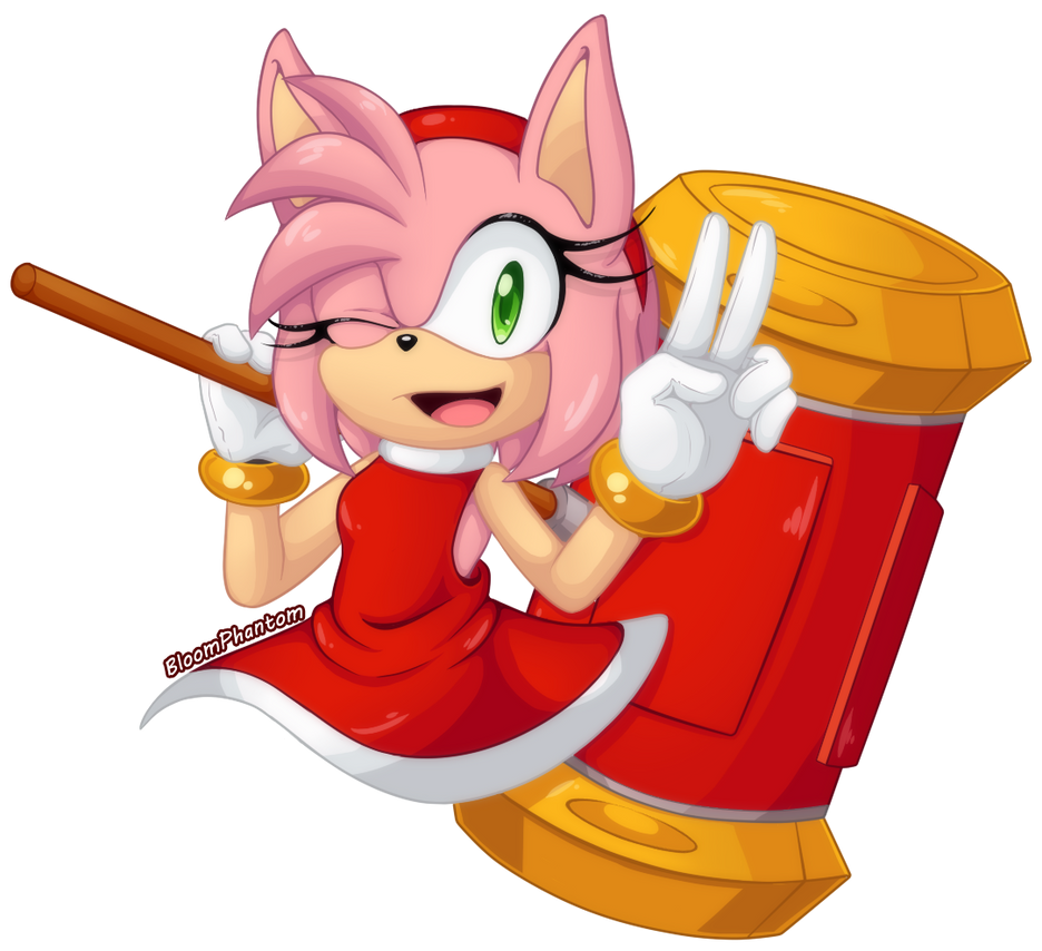 .Amy Rose. by BloomPhantom