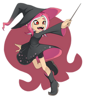 .:OctoWitch:. by BloomPhantom