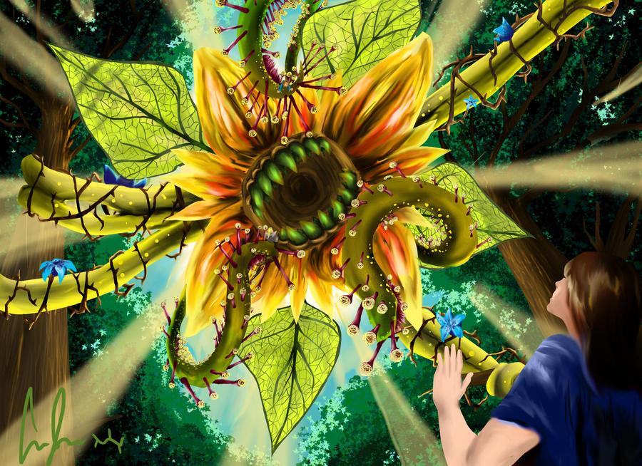 Sunflower O' Doom by Lightsteel