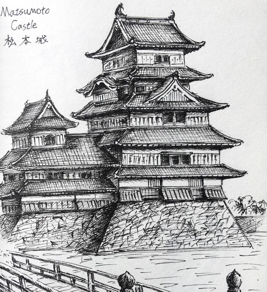 Japanese Castle Matsumoto By EasonHou