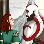 Kratos and Faye