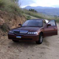 Luxury Sedan Car Parked