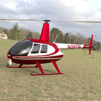 News Helicopter Landed in a Field