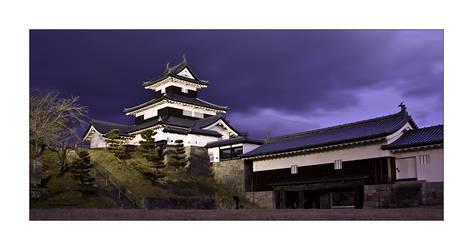 Shirwakawa Castle by MrNudge