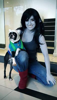 Finn and Marceline