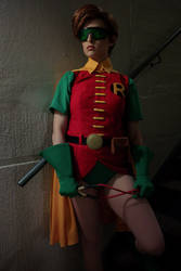 Carrie Kelley/Robin from The Dark Knight Returns