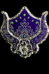 WARFRAME Lotus - Tribal Helmet
