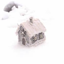 Winter house by Dasha-Svetlaya