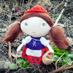 Just Little Red Riding Hood by Dasha-Svetlaya