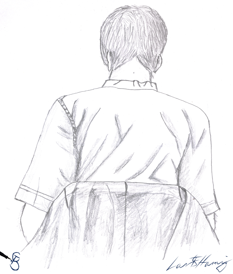 Portrait Drawing by Starcat666