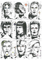 NovemCor lineup  by ExevaloN