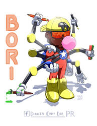 DCDPR Mascot by ExevaloN