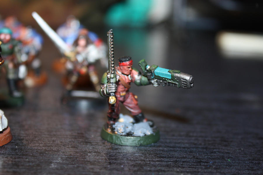 Veteran guardsmen
