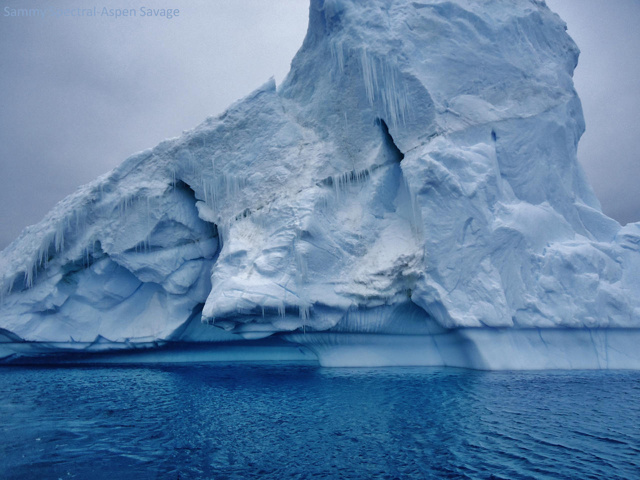 Spire iceberg