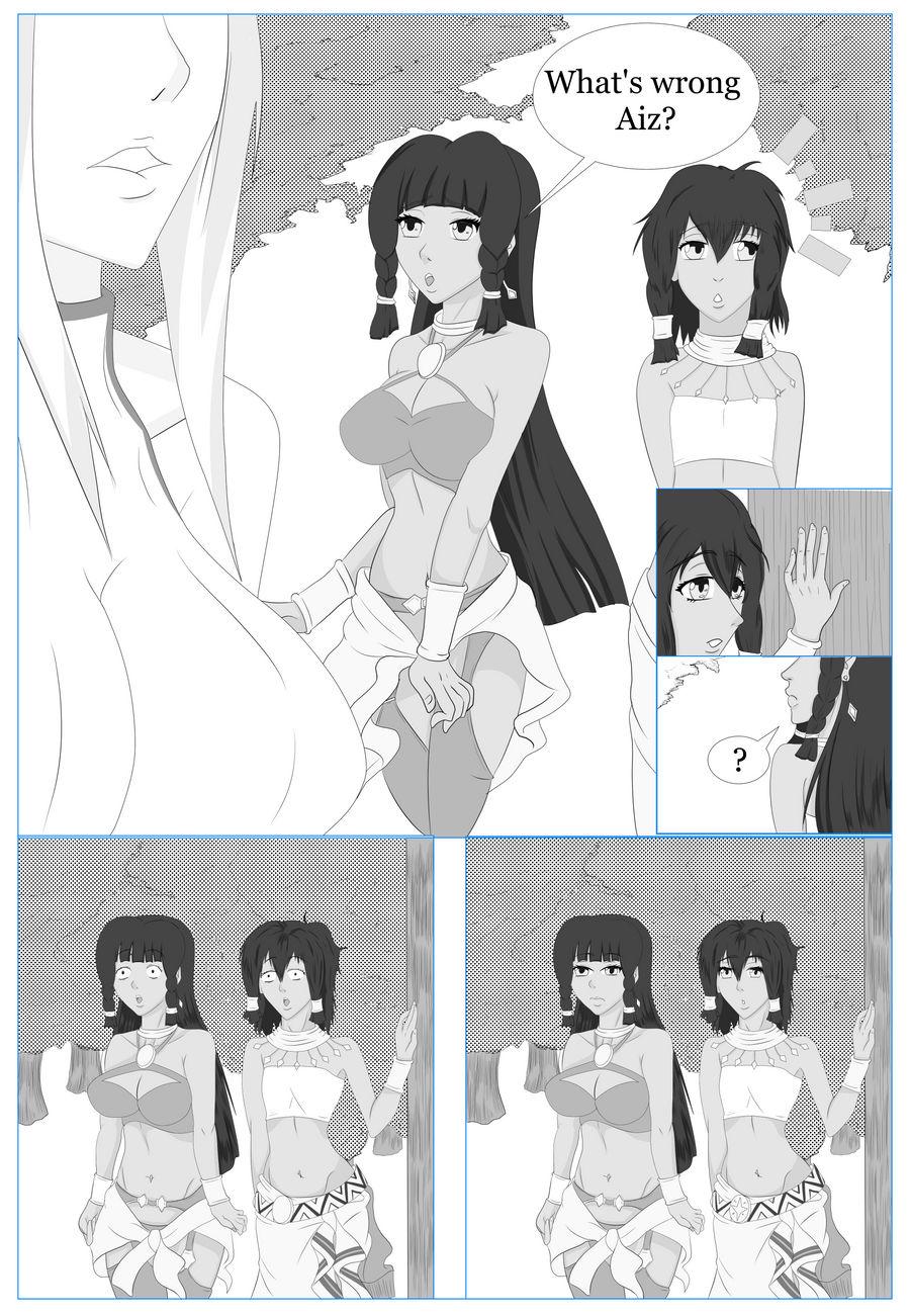 Danmachi Comic Page Three
