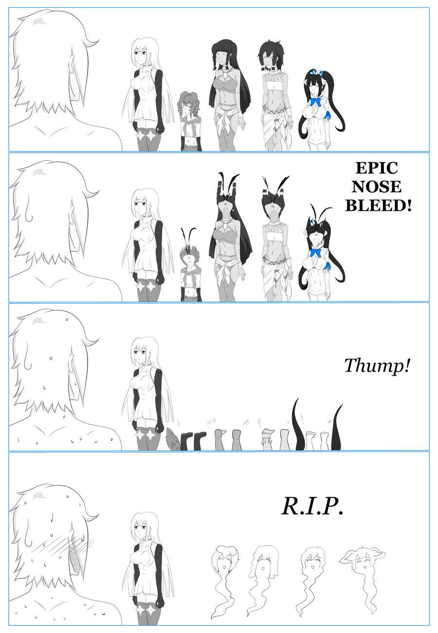 Danmachi Comic Page Seven