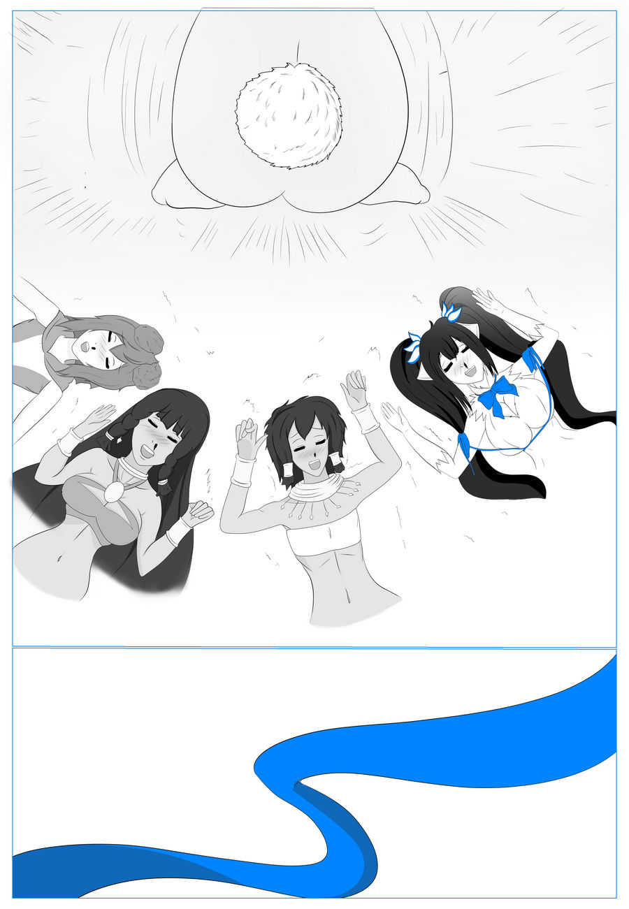 Danmachi Comic Page Nine
